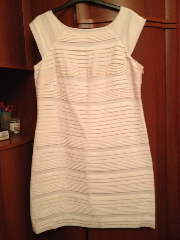 Короткое свадебное платье  L + подарки. В идеале. 5000 руб. Москва, почта.