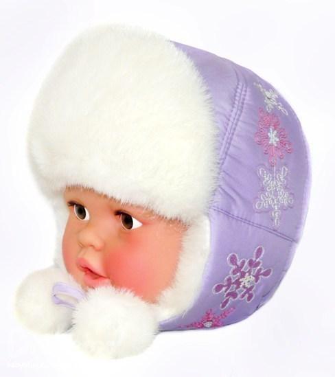 Зимние шапки для малышей своими руками