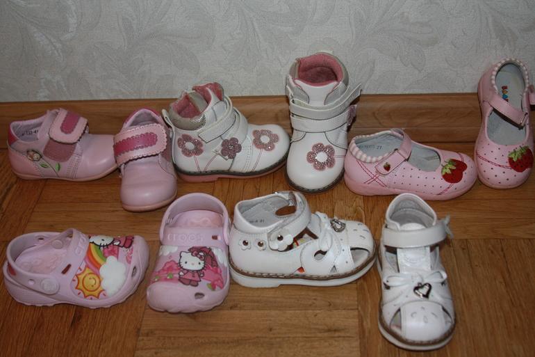 Продам обувь на девочку размер 20-23 (Crocs,TomM,Biki, Сказка)