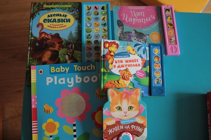 Наши книжки игрушки для самых маленьких