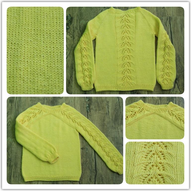 Вязать буду ажурный свитер для