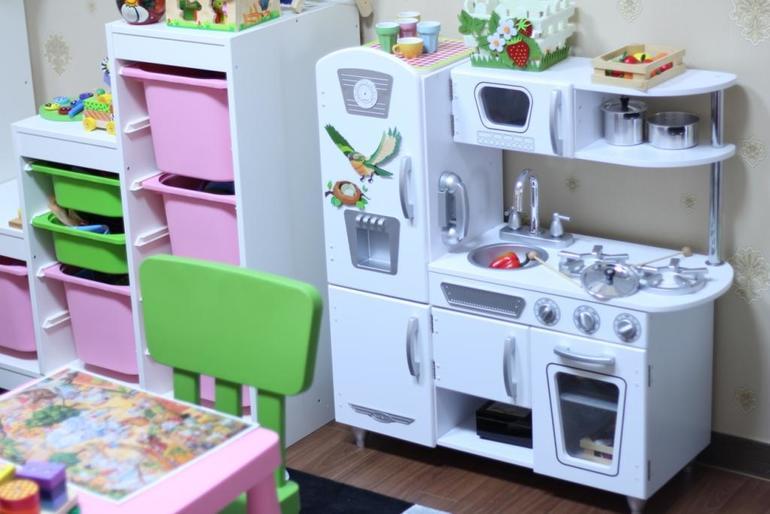 Детская кухня для детского сада фото 9