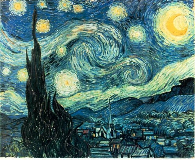 Ищу схему Звездная ночь В.Ван