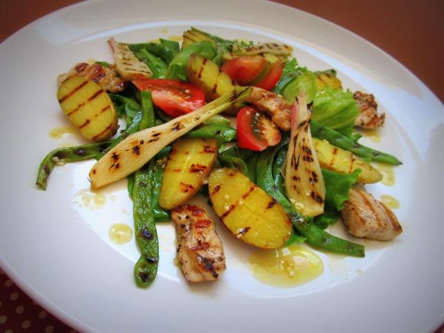 Рецепт салата гриль