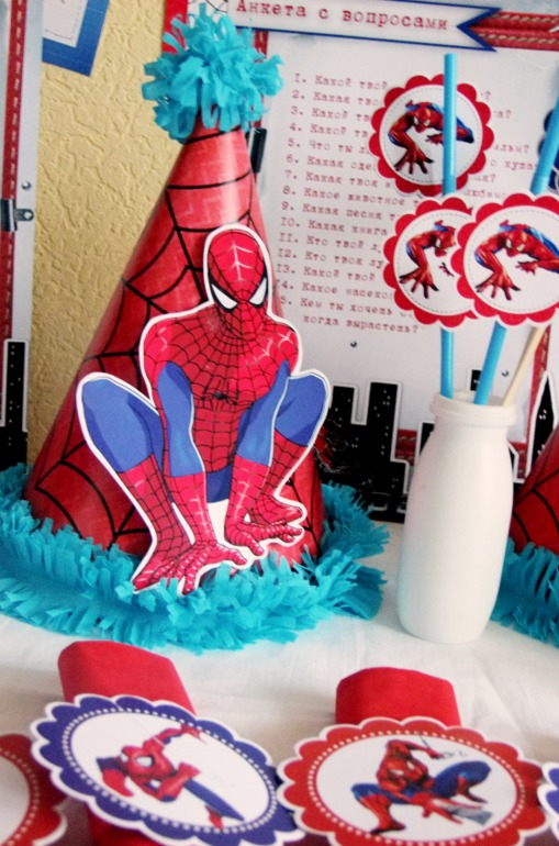 Праздник в стиле человек паук