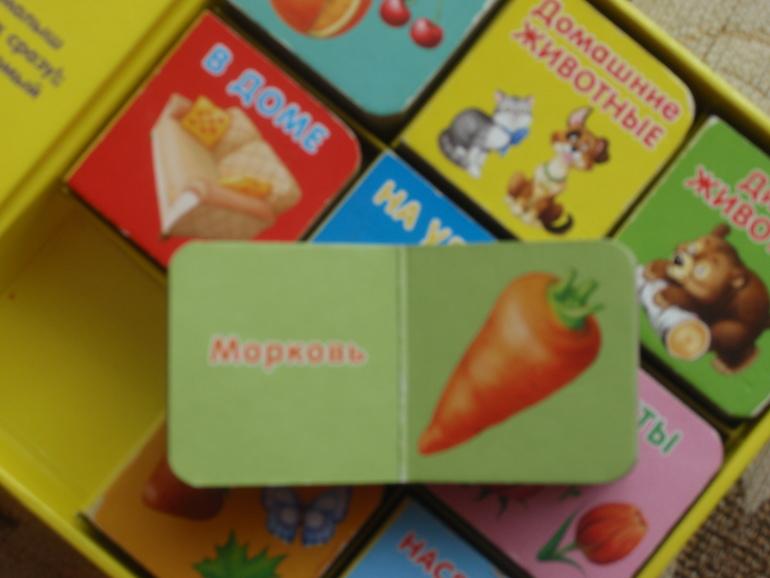 Робинс Книжки-кубики Мой первый зоопарк