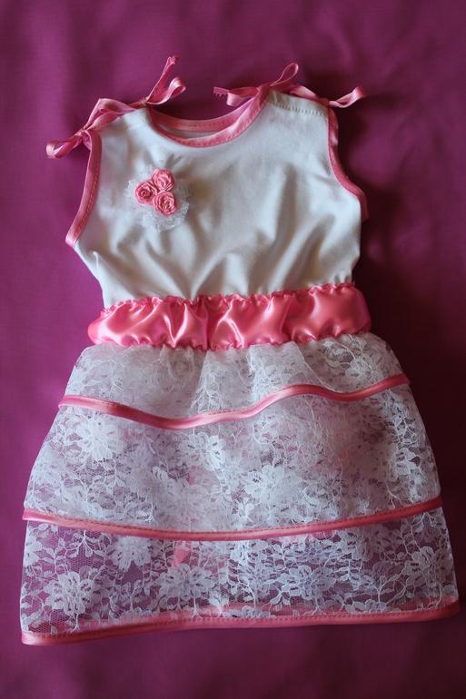 Мое первое платье для крохи!