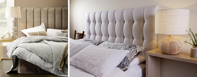 Кровати с мягким изголовьем  рязань