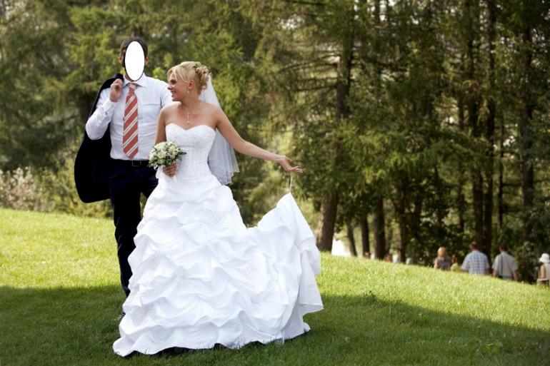 Как сделать шлейф своими руками на свадебное платье 89