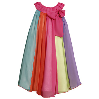 Очень красивое шифоновое платье.