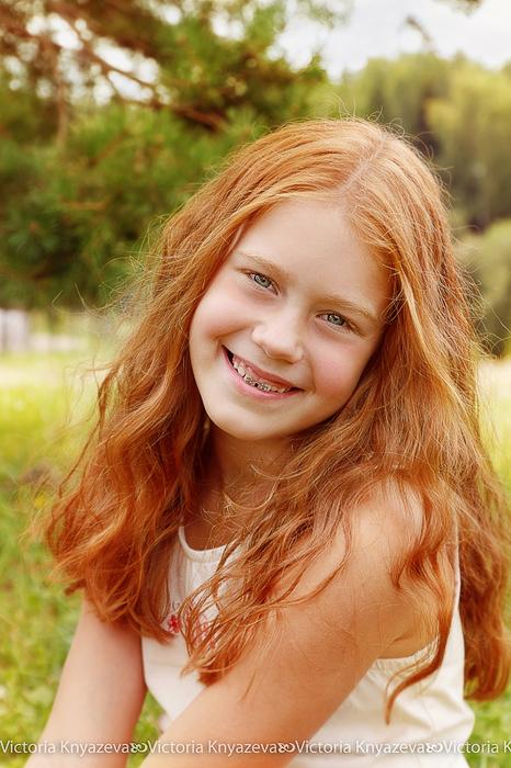 Детская фотосессия. Дарья