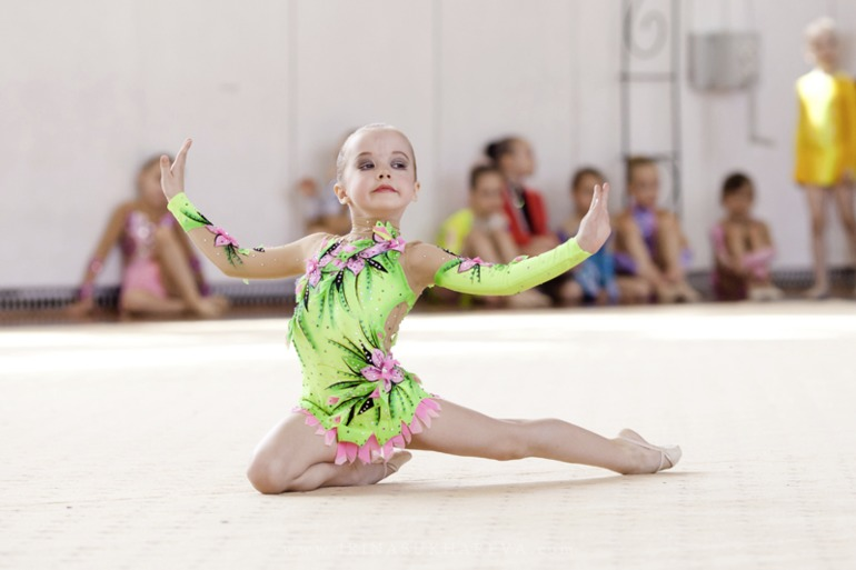 Соревнования по художественной гимнастике россия