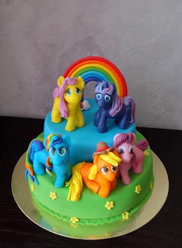 Торт мой маленький пони.