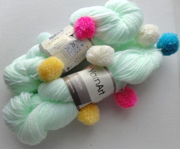 Помпон нитки для вязания