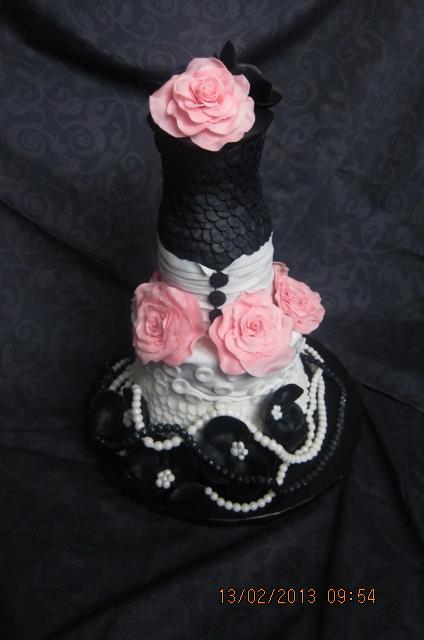 торт а-ля Коко-Шанель.