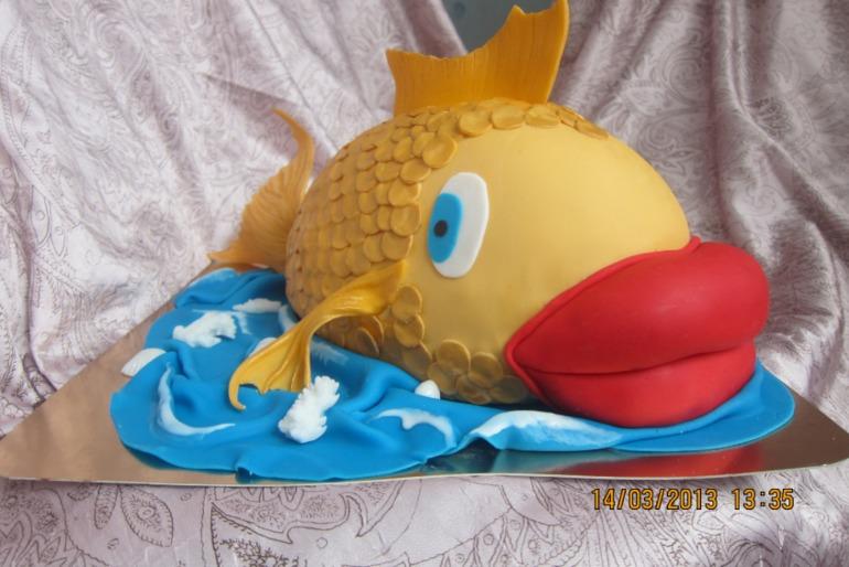 Торт рыбка как сделать