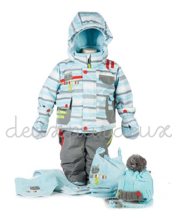 Зимний костюм для мальчика 7