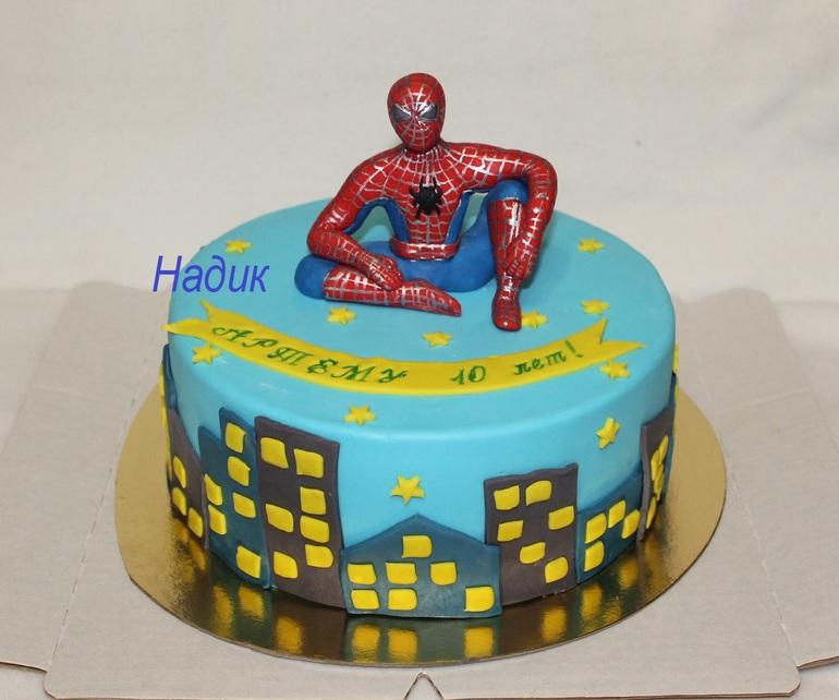 дороге автомобиль, торт человек паук из мастики вид греха приписанный