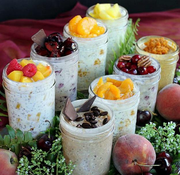Ленивая овсянка в банке: здоровый быстрый завтрак, который не надо готовить