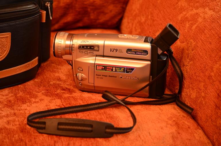 Камера panasonic NV-VZ9 Japan в идеале + чехол-сумка