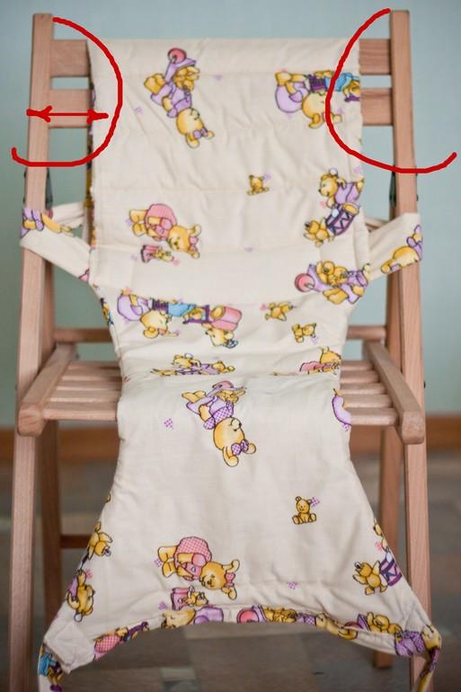 Детский чехол для стула сшить 86