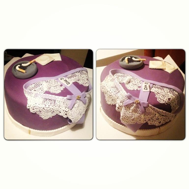 Тортик на 30 лет для девушки - bae0d