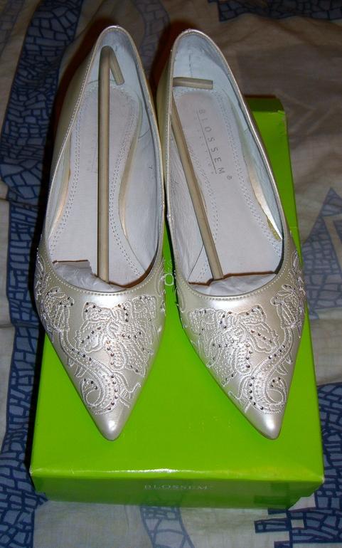 Свадебные туфли BLOSSEM р.37-38