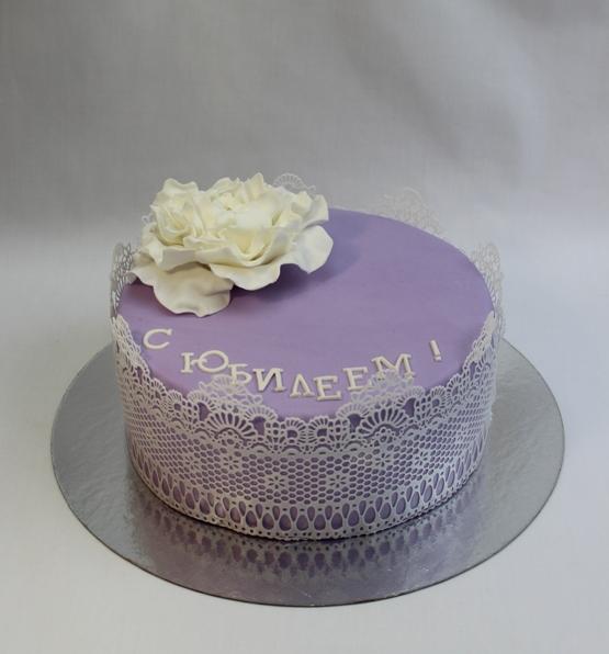 Из чего делают кружева на торт