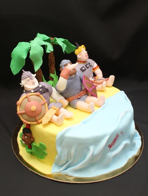 рецепт торта три богатыря фото