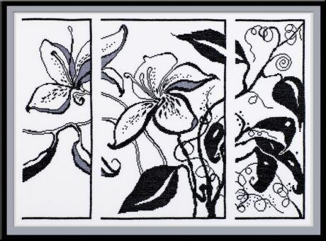 Схема цветов в монохроме от