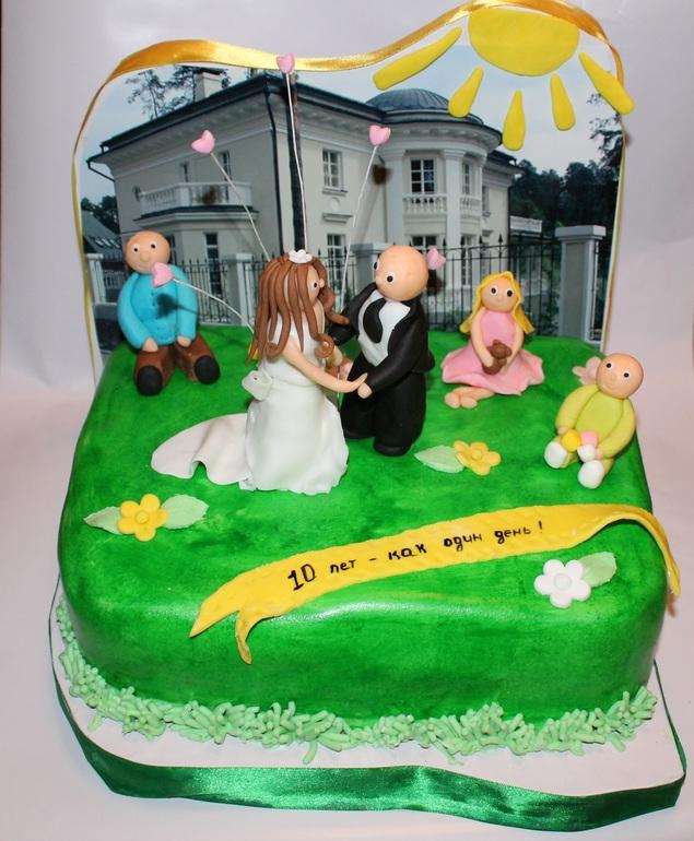 Креативные торты на годовщину свадьбы фото