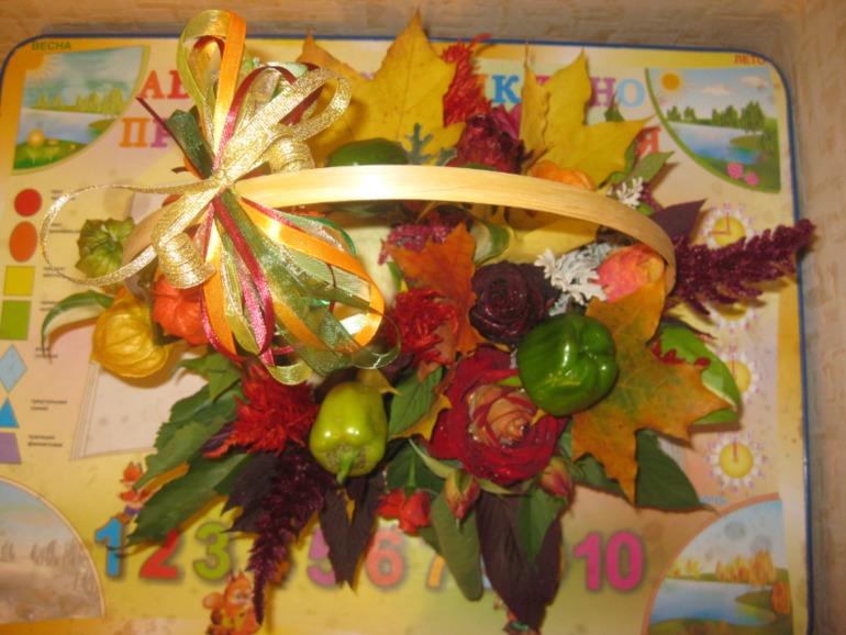 Поделки осень в детский сад осенью 63