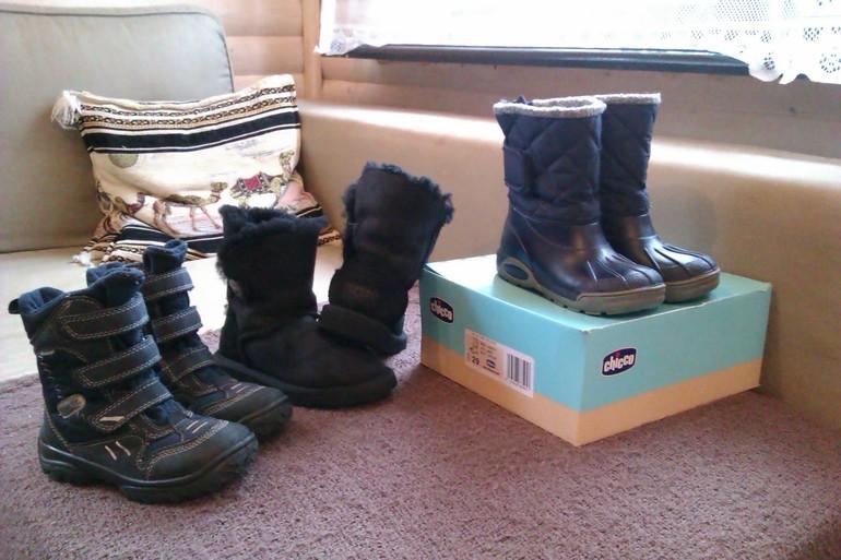Обувь для мальчика осень-зима 28-30 размер