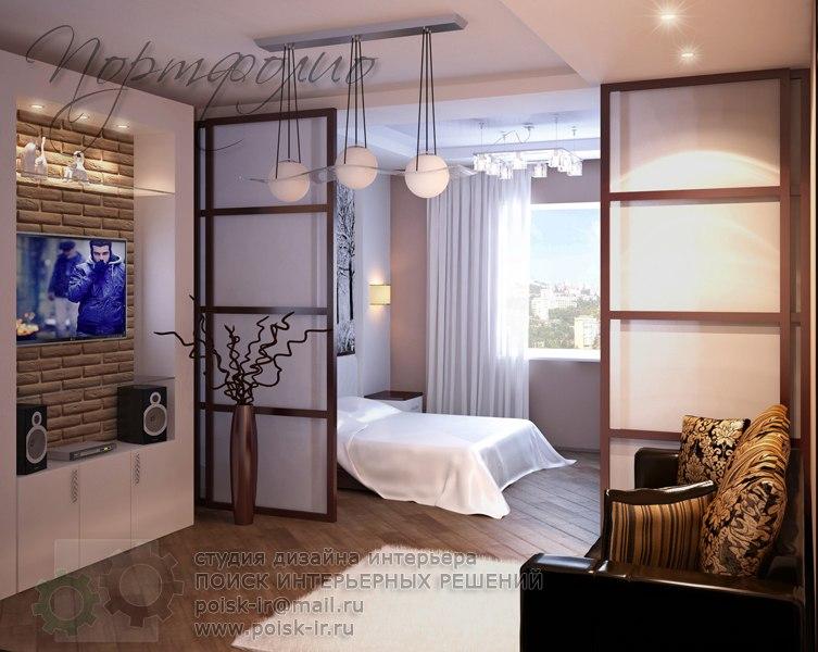 Дизайн комнаты в 25 кв м