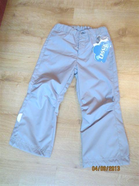 Новые  осенние  брюки  Lassie  р.104(+  6)  1200  руб.