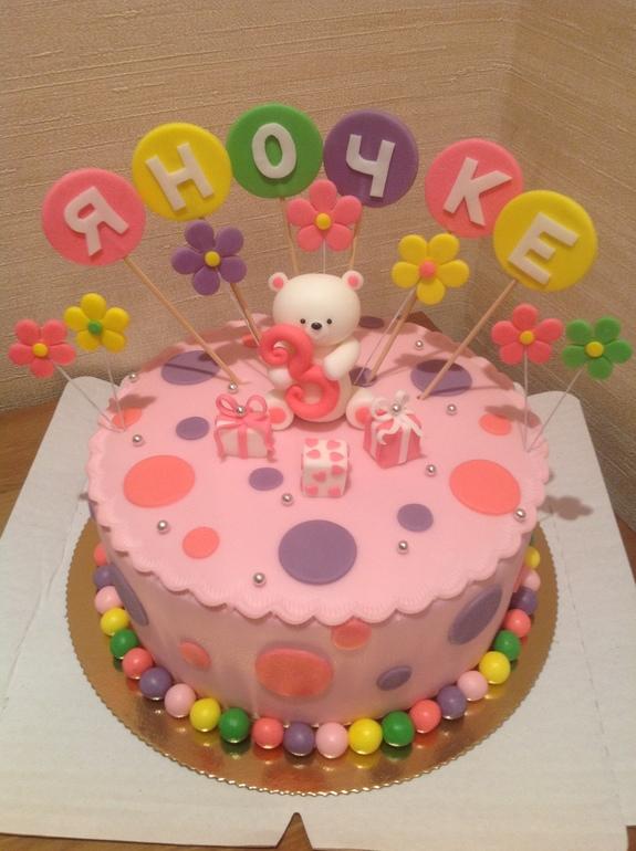 Детские тортики фото для девочки