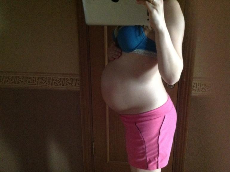 Живот опустился на 33 неделе беременности