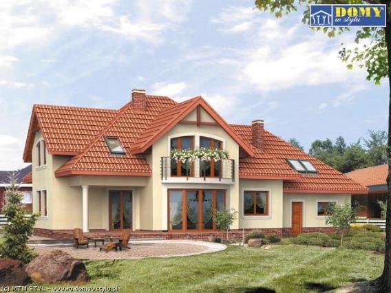 мансардные дома фото планировка