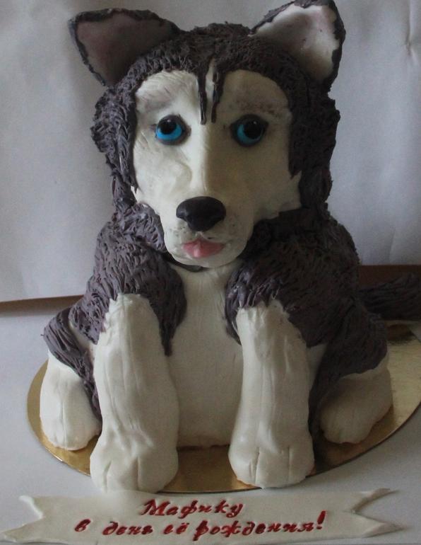 Торт собака 3д мастер класс