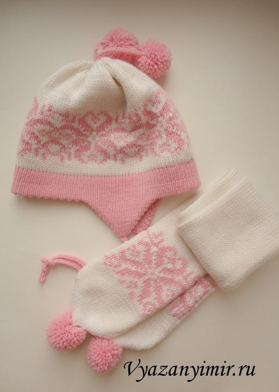 Описание вязания шапочки на