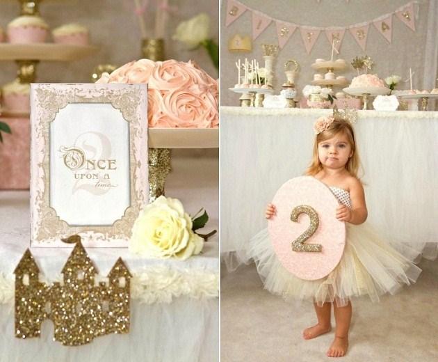 День рождения в стиле принцесс своими руками