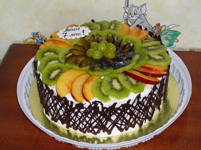 Украшение фруктами в домашних условиях с фото 932