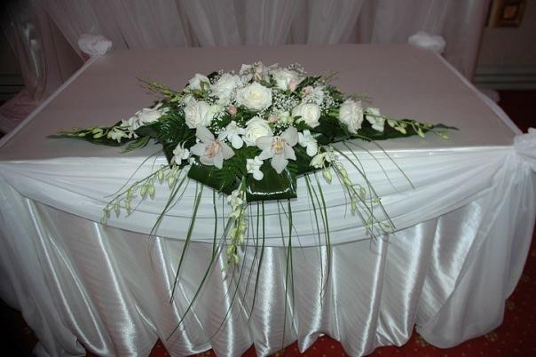 Букет из цветов на стол своими руками 1