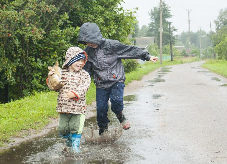 Картинки про дождик летом
