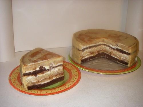 """МК сборка торта в """"колодец"""" с фото."""