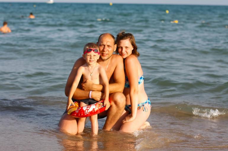 Первый семейный отдых. Тунис. Сентябрь 2013