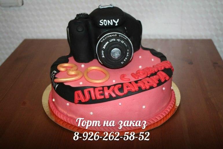 Фотоапарат торт своими руками фото