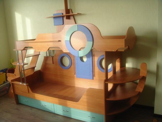Детские кровати корабль своими руками