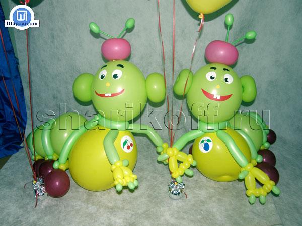 Гусеница на день рождения своими руками 84