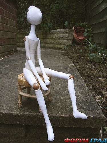 Шарнирная кукла своими руками видео фото 863